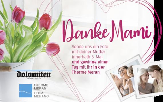 Muttertag mit Dolomiten und Therme Meran
